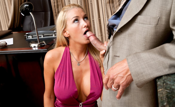Client Blake Rose fucking in the office with her big tits - Sex Position #5