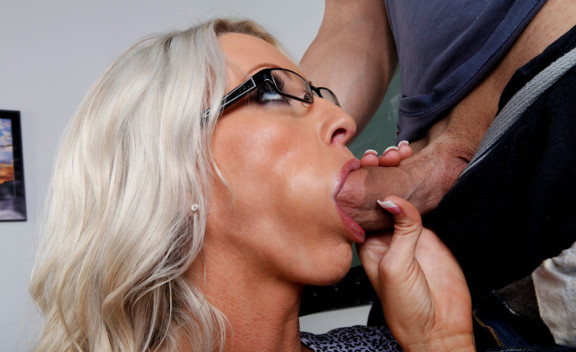 Emma Starr fucking in the classroom with her glasses - Sex Position #4